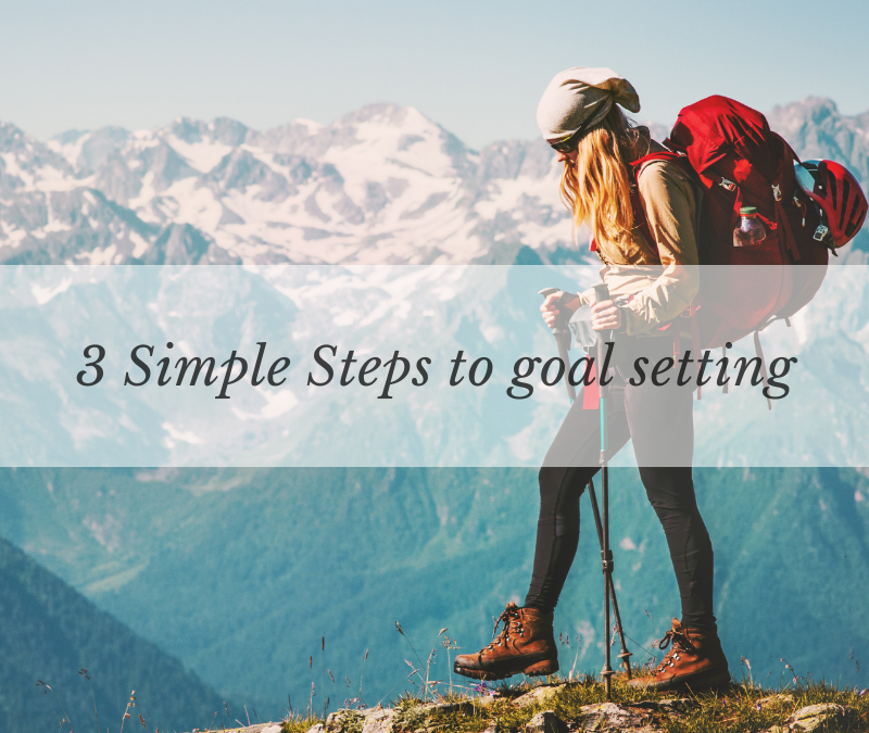 3 Simple Steps to Goal Setting