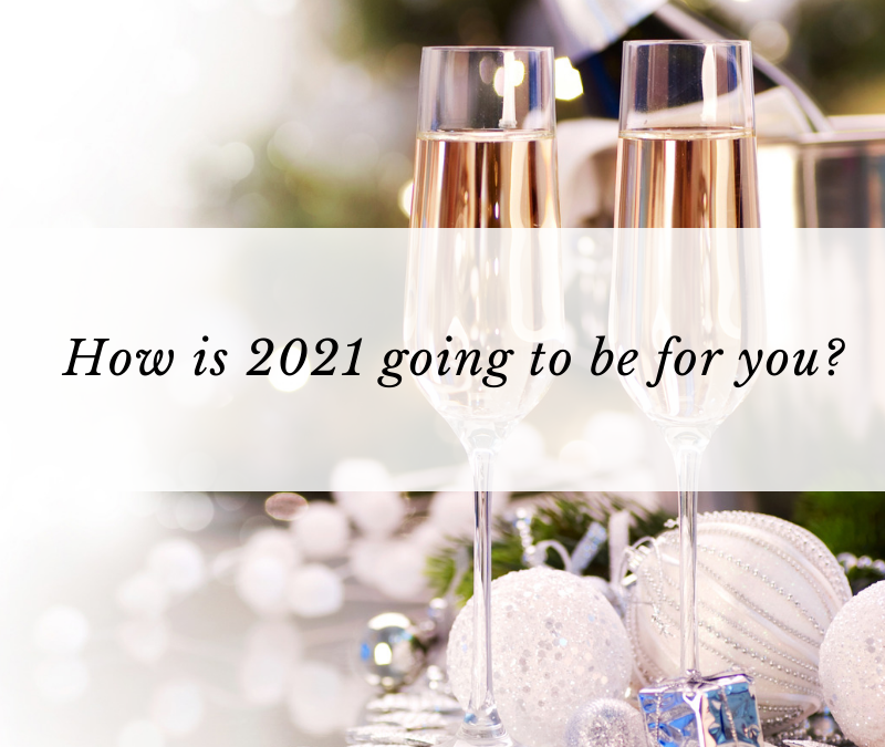 How is 2021 going to be for you?