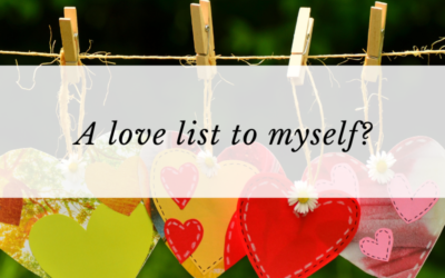A love list to myself?
